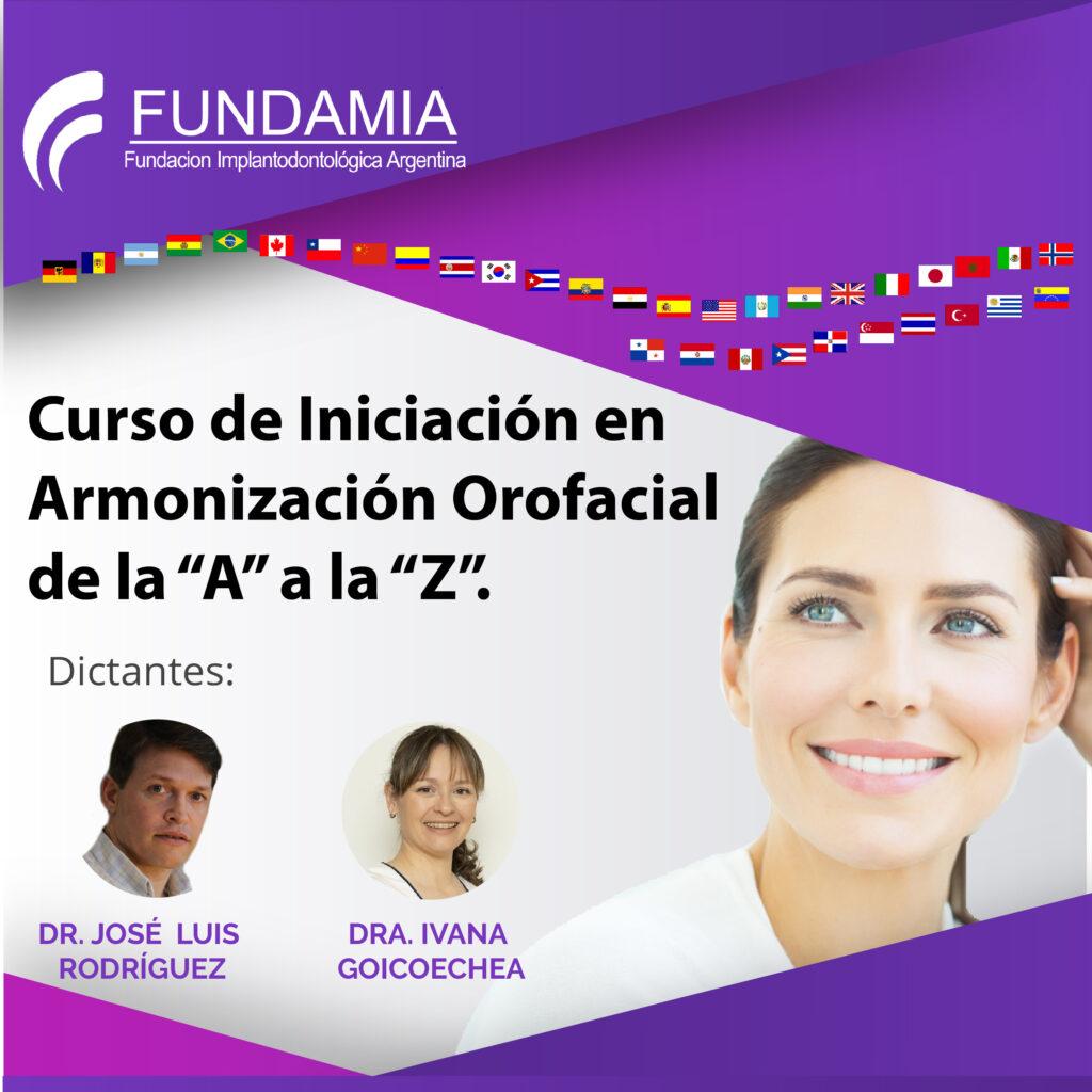 """Curso de Iniciación en Armonización Orofacial de la """"A a la Z"""""""