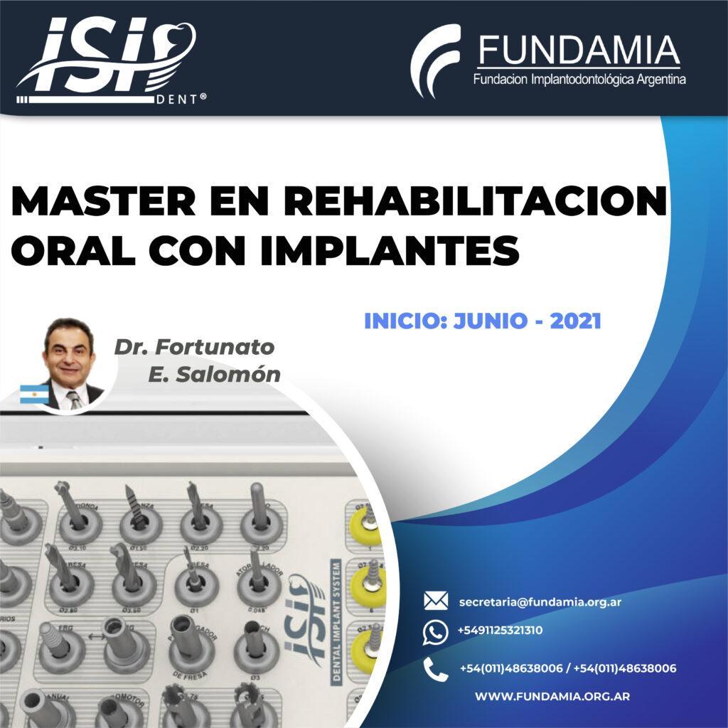 Master en Rehabilitación Oral con Implantes