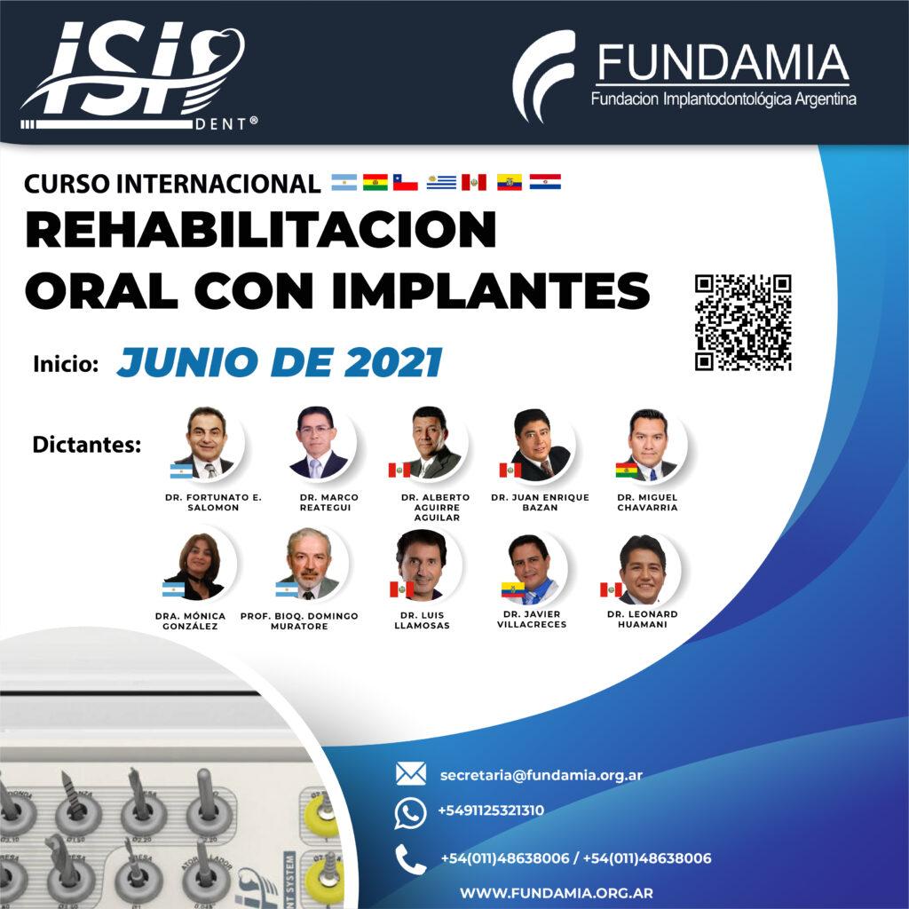 Curso de Rehabilitación Oral con Implantes Internacional